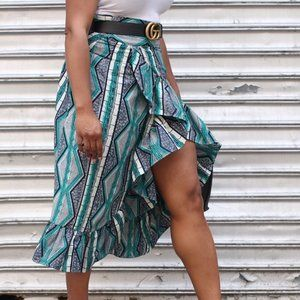Dresses & Skirts - Grass Fields African Printed Skirt